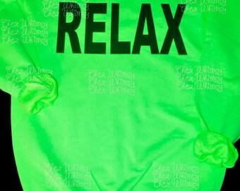 80s Style Sweatshirt, Off the Shoulder Eighties Style, Relax Lightweight SweatShirt, 80's Party Costume, Neon Sweatshirt, 80's Style