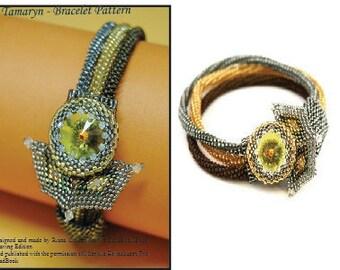 Tamaryn - Peyote stitch Bracelet