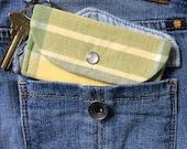 Student ID Holder Wallet - Keychain Wallet - Minimalist Wallet - Metro Card Holder - Credit Card Case - Card Wallet - Front Pocket Wallet