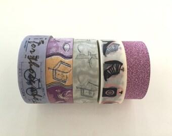 Super Sales (5 rolls) Washi Masking Tape