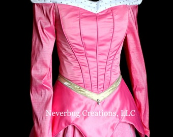 Sleeping Beauty Aurora Parade Version Custom Costume