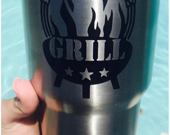 King of the Grill - Customizable - Dads Gift
