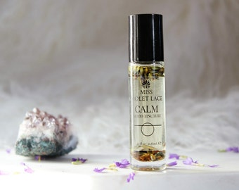 CALM perfume | Aromatherapy Mood Oil with Lavender and Vanilla | 100% natural and vegan