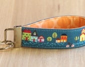 Key Fob Wristlet - Tiny Houses - Ready to Ship