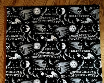 Ouija Board Print Tarot Cloth