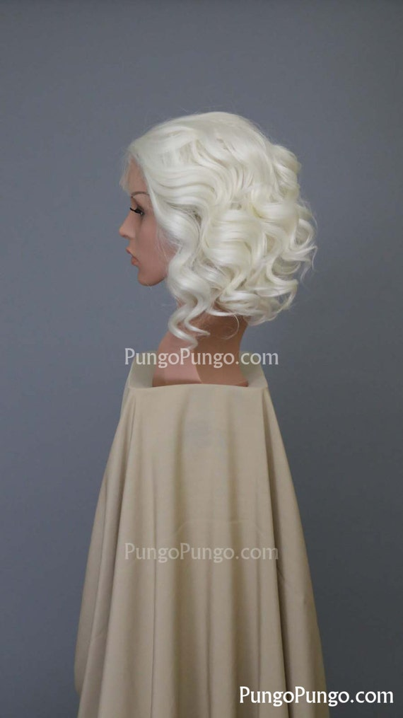 White Blonde Cosplay Wig 33