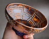 Shaving Bowl Made To Order Rust Brown Sheet Metal Shaving Bowl by Symmetrical Pottery