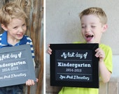 BOGO 8x10 Personalized Back To School Prints