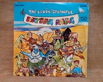 SEALED...The LOVIN' SPOONFUL - Everything Playing - 1968 Vintage Vinyl Gatefold Record Album