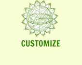 Custom Design and Choose your own shirt and ink color and image