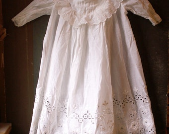 Vintage Baby's Christening Gown - Baptism Dress