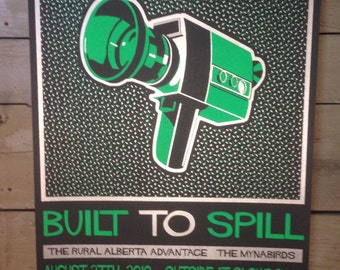 Built To Spill Screenprinted Poster
