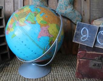 Vintage Giant Globe