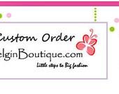Custom Order for Nguyen pink leopard cupcake dress low glitz