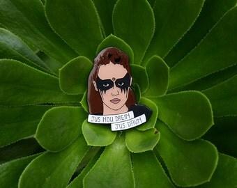 Commander Lexa soft enamel Lapel Pin The 100