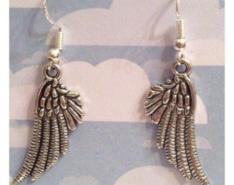 Earrings-Angel Wings #1