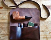 Pipe & Tobacco Pouch * Ready To Ship! * Sorringowl and Sons * Pipe Bag * The Gent