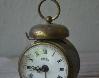 Vintage Miniature Alarm Clock