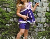 Rapunzel Outfit - Sizes 2T, 3T, 4T, 5, 6, 7, 8 and 10