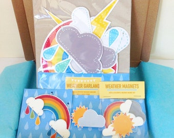 NEW Weather Themed Goodie Box