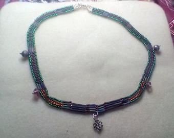 Herring Bone Style Necklace