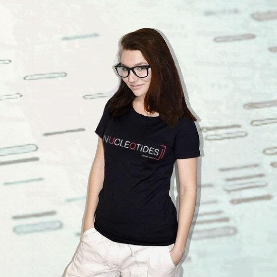 Nucleotides DNA T-Shirt - Black