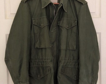 M51, M1951 US Army Jacket, Korean War, Small Regular, with Mohair Winter Lining