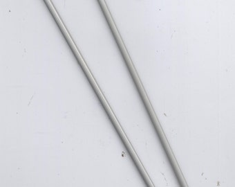 2X END Size 7 (USA)  / Size 7 (Europe) - 4.5mm - 1 Pair USED Aluminum Double End Knitting Needles
