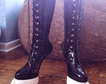 CUSTOM Deluxe Knee High Hoof Boots
