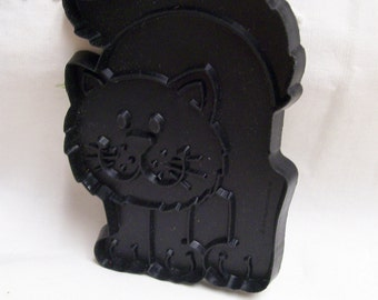 Halloween Black Cat Cookie Cutters Lot of 2 Vintage