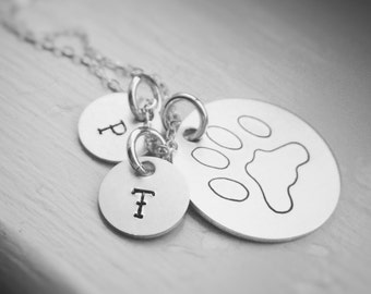 Pet Memorial Necklace Dog Cat Lovers Jewelry Gift Sympathy Pet Loss In Memory of Remembrance