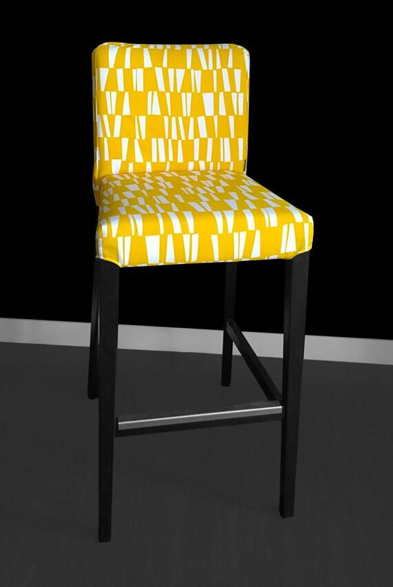 Yellow Summerhouse HENRIKSDAL Bar Stool Chair Cover : il570xN9583374682ll2 from www.etsy.com size 570 x 852 jpeg 57kB