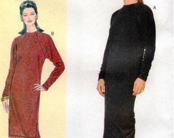 UNCUT Today's Fit by Sandra Betzina Vogue Pattern 7136 - Misses/Misses Petite Easy Dress, Top & Skirt - GHIJ