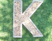 DIY Letter LARGER Planter 20 inch Monogrammed Planter Box greek sorority letter