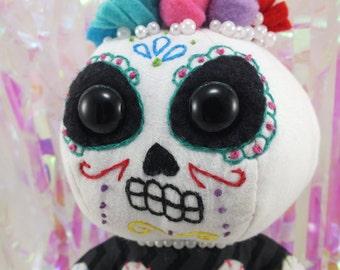 Day of The Dead Sugar Skeleton Dia de los Muertos Calavera