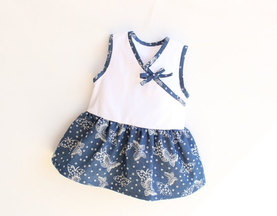 Baby Girl Dress pattern Pdf sewing, PRETTY Easy Sleeveless Dress, Pinafore Jumper, Baby Wrap Dress, toddler newborn 3 6 9 12 18m 1, 2 yrs