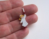 Dolls' House Miniature Christmas Decoration - Angel Candlestick