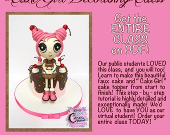 Cake Girl Decorating Class On PDF