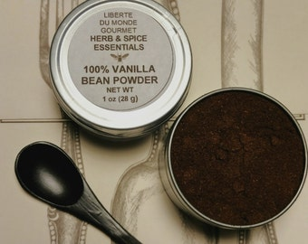 Vanilla Bean Powder 100% Madagascar