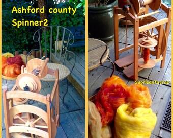 Ashford Country Spinner 2  Spinning Wheel  Free Shipping free extra bobbin  : saorisantacruz