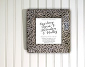 Wedding invitation keepsake - invitation plate - unique wedding gift - for couple - memento - invitation tray - wedding gift -  keepsake