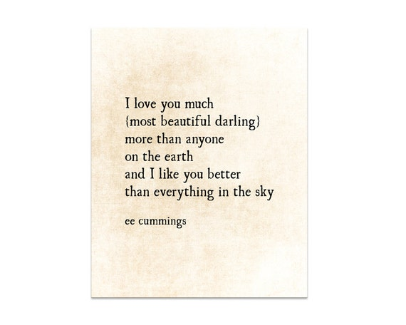 Love Quotes Book Endearing Romantic Quote I Love You Much Literary Quote Love Quote