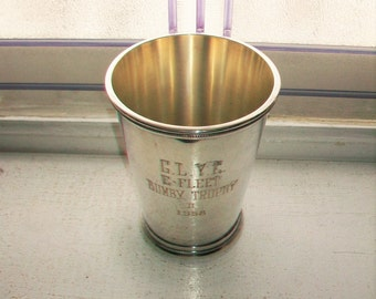 1958 Great Lakes Yacht Club Trophy Cup Silver Plate Vintage International Silver Co.