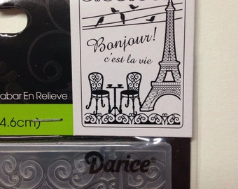 Paris Darcie embossing folder French Bistro