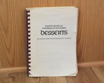 Desserts - Favorite Recipes of Assemblies of God Women - 1970
