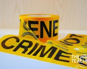 Crime Scene Tape - 50-feet Crime Scene Do Not Cross Tape - Mystery Party - Nancy Drew Party - Detective Party