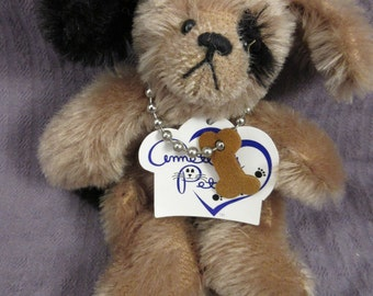 Annette's Pets Mohair Dog Annette Funicello LE Plush Puppy Knickerbocker Retired