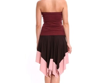 Arlette II skirt - brown, tea rose