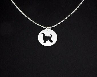Afghan Hound Necklace - Afghan Hound Jewelry - Afghan Hound Gift