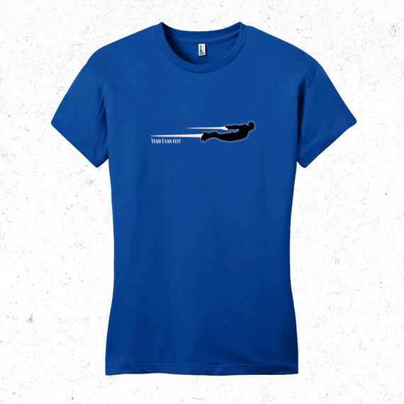 Iron Man tshirt - Womens Yeah I can fly